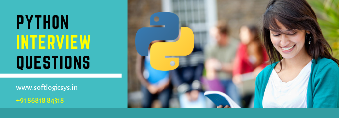 Top 50 Python Interview Questions and Answers [2019]
